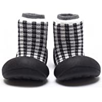 Attipas Chess Baby Walker Shoes, Black, Small