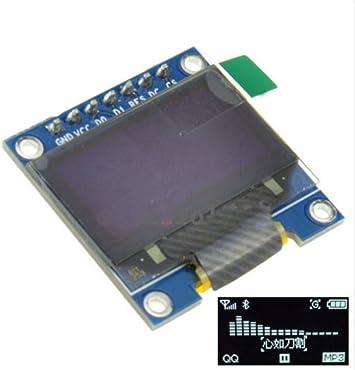 """3-5V 0.96/"""" IIC I2C SPI Serial 128X64 OLED LCD LED Display Module For Arduino"""