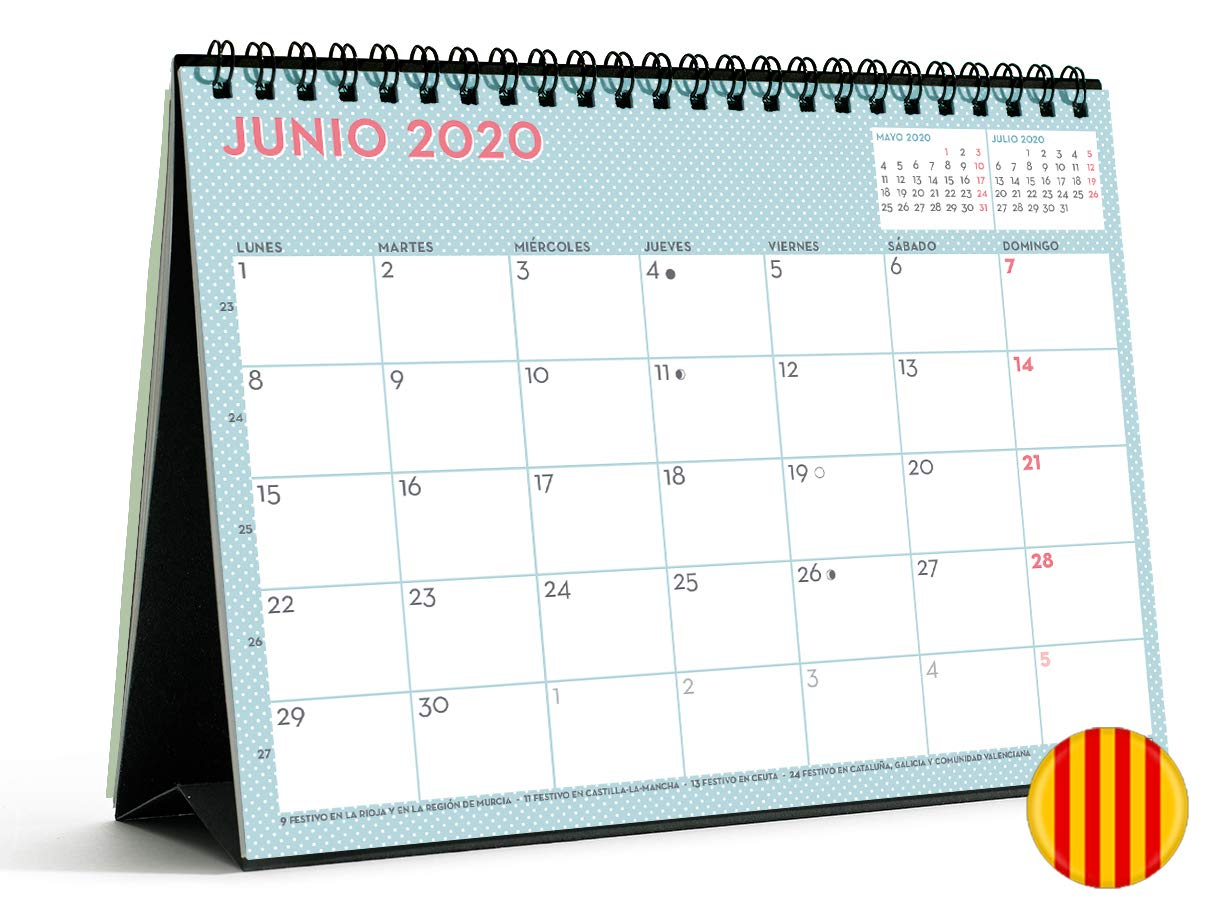 Miquelrius 28053 - Calendario de Pared A3 Familiar Lovely DIY 2020 ...