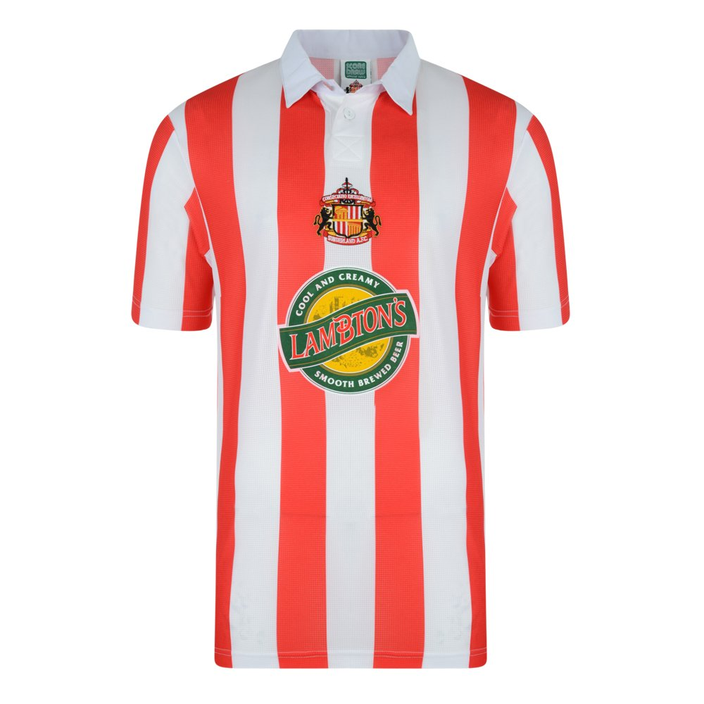 05d30ab62 Official Retro Sunderland 1999 Retro Football Shirt 100% POLYESTER   Amazon.co.uk  Sports   Outdoors