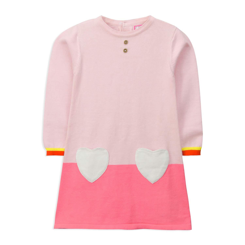 ce7bdd8620ba5 Amazon.com : Cherry Crumble Hearty Sweater Dress : Baby