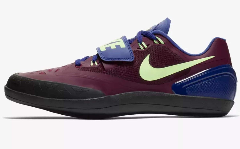 Nike Zoom rojoational 6, Hauszapatos de Atletismo Unisex Adulto MultiColor (Bordeaux Lime Blast Regency púrpura 600)