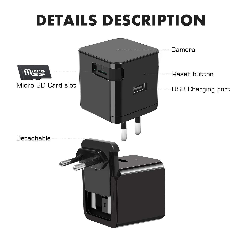 Telecamera spia microcamera infrarossi full hd nascosta micro notturna mini sq9