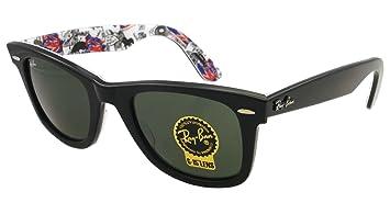 71da74ef119 Ray-Ban 2140 1114 Top Shiny Black on London 2140 Wayfarer Wayfarer  Sunglasses Lens Category