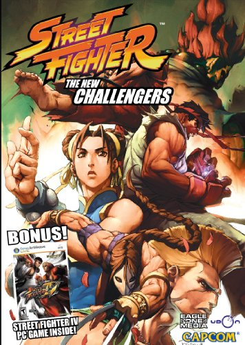 Street Fighter: The New Challengers DVD + Street Fighter IV PC Game bundle ()