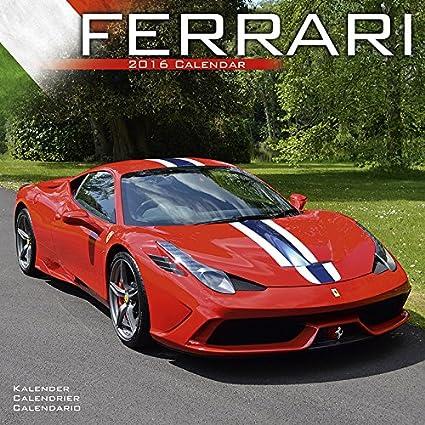 FERRARI-Calendario de 2016 coches italianos coche, diseño de ...