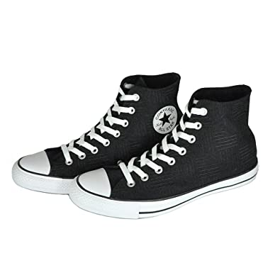 7ef991b894272f Image Unavailable. Image not available for. Color  Converse Chuck Taylor  All Star Hi Americana Print Black White White Size 6.5 Men