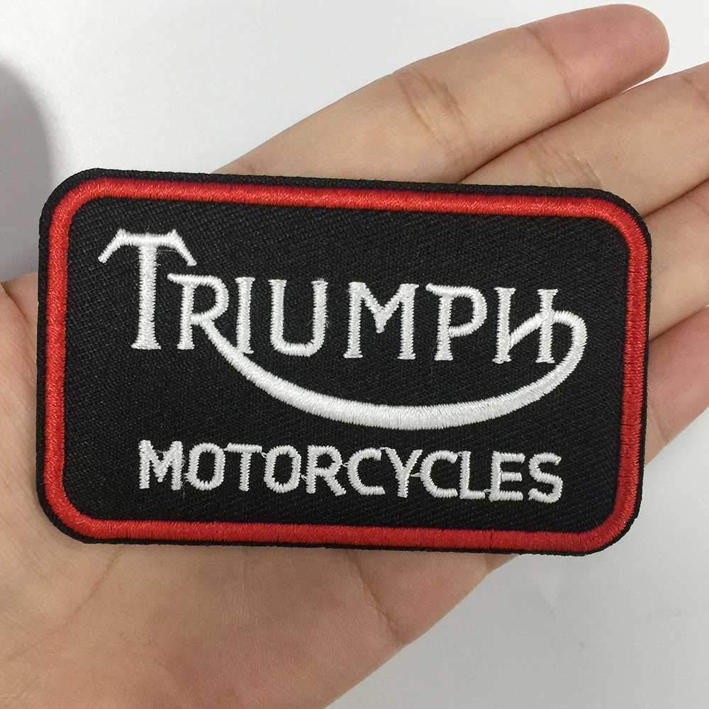 Parche bordado para planchar parches de motero accesorios de ropa 2 piezas de etiquetas de costura punk ropa pegatinas