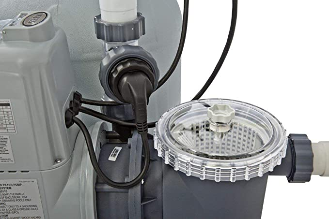 Intex 28676 - Combo depuradora de arena + cloracion salina ECO 7 gramos 32.200 litros