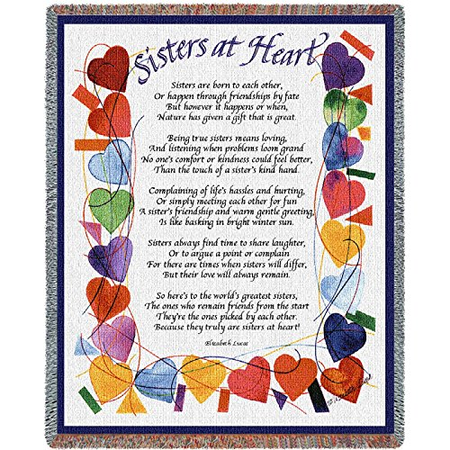 Pure Country Sisters At Heart Blanket Tapestry Throw (Tapestry Sister)