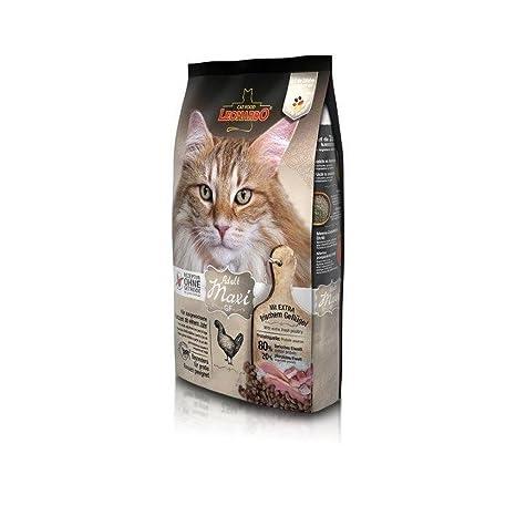 LEONARDO Grano seco libre de Maxi 1,8kg Alimento para los gatos Artículos para mascotas