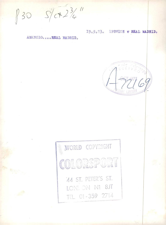 Amazon.com: Vintage photo of Amancio Amaro Spanish football ...