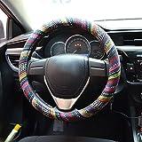 FLY5D Cubierta universal del automóvil del volante de múltiples colores Cubierta automática del...