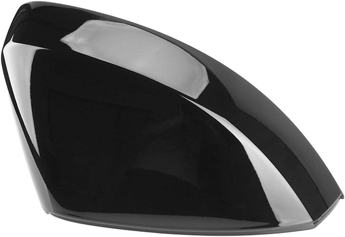 FSLLOVE FANGSHUILIN 2 st/ücke gl/änzende Schwarze seitenspiegelkappe Abdeckungen for Audi A3 S3 8V RS3 2013 2014 2015 2016 2018 2017 2019 Black reaview spiegeldeckel