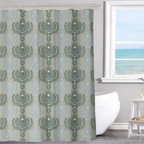 Waterproof shower curtain 72