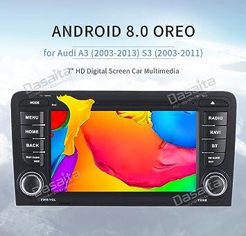 """Dasaita 10,2"""" 2 Din Android 8.0 Autoradio Radio de Coche Bluetooth Manos Libres"""