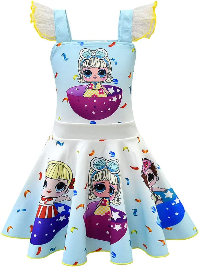 Girl LoL Surprise Doll Game Fancy Dress Princess Party Halloween Cosplay Costume