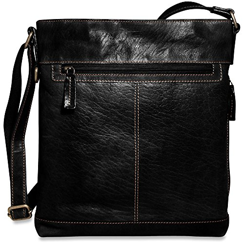 Jack Georges Womens Briefcase - Jack Georges Voyager 7312, Black, One Size