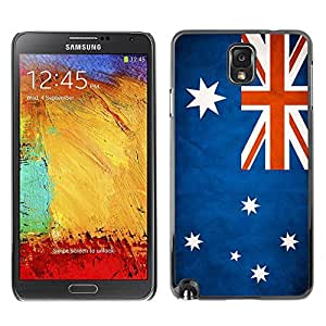 Shell-Star ( National Flag Series-Australia ) Snap On Hard Protective Case For Samsung Galaxy Note 3 III / N9000 / N9005