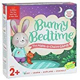 Peaceable Kingdom Bunny Bedtime The Make a Choice Game for You and Your 2 Year Old