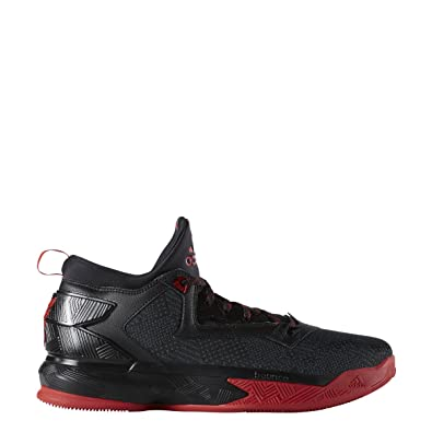 best sneakers 3a0d0 a10b6 adidas D Lillard 2 Mens Basketball Shoe (9 D(M) US, Black