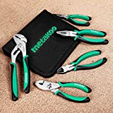 METAKOO 5-Piece Pliers Set with Case, American