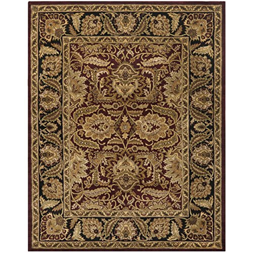 Classics Wool Rug - Safavieh CL239B-10 Classic Collection Handmade Wool Area Rug, 9'6