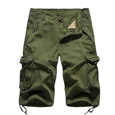 Herren Shorts Kurze Hose Bermudas Sommer Boho Strand Freizeit Kurzehosen Pants