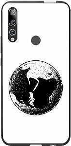 اوكتيك كفر حماية غطاء جراب متوافق مع هواوي واي 9 برايم 2019 خلفية صلبة واطراف مرنه ممتص للصدمات - تصميم مطفي متعدد الألوان بواسطة اوكتيك