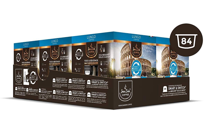 SanSiro No. 2 - Cápsulas de café compatibles con Dolce Gusto ...