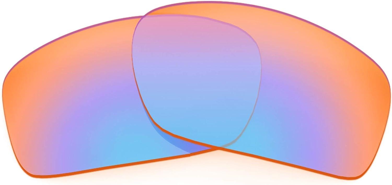 Revant Verres de Rechange pour Oakley Scalpel (Coupe Asiatique) Orange Traceur Mirrorshield - Non Polarisés Elite