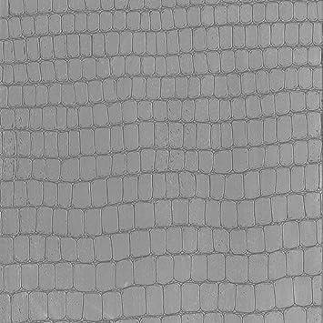 Film Adhesif Decoratif Pour Meuble Effet Matiere Croco Lin 45 X150 Cm Impermeable Pvc Sans Phtalates 53202