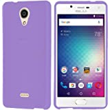 BLU Studio Touch case, {NFW} TPU Gel Rubber Soft Skin Silicone Protective Case Cover for BLU Studio Touch (S0210UU)(TPU Purple)