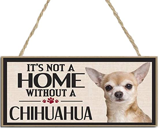 Rateim Wood Dog House Door Hanging Plates Dog Signs Gift Home Decoration Plaques