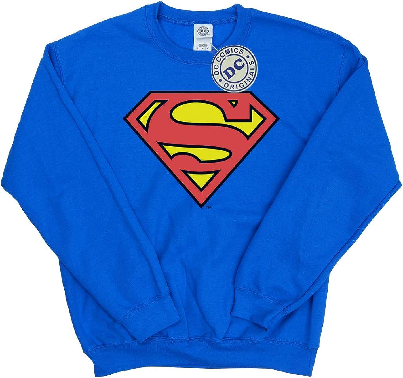 DC Comics Girls Superman Logo Sweatshirt