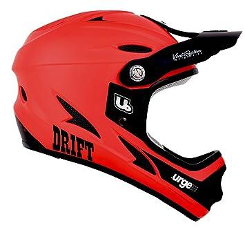 Urge Drift - Casco Integral, Color Rojo, Color Rojo, tamaño L