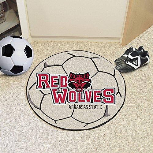 - Fanmats Sports Team Logo Arkansas State University Soccer Ball