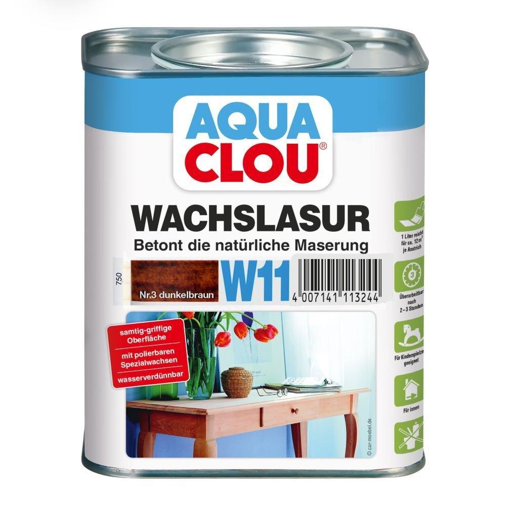 Clou Wachslasur W11 farblos 0, 750 L Alfred Clouth Lackfabrik GmbH Co. KG