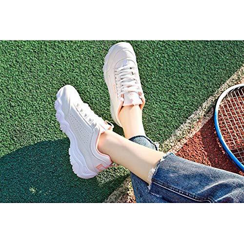 Pink Basse uk6 Studenti Sportive Donna Scarpe colore Eu39 cn39 Ff Bianche Per Size PxqI8g4Y