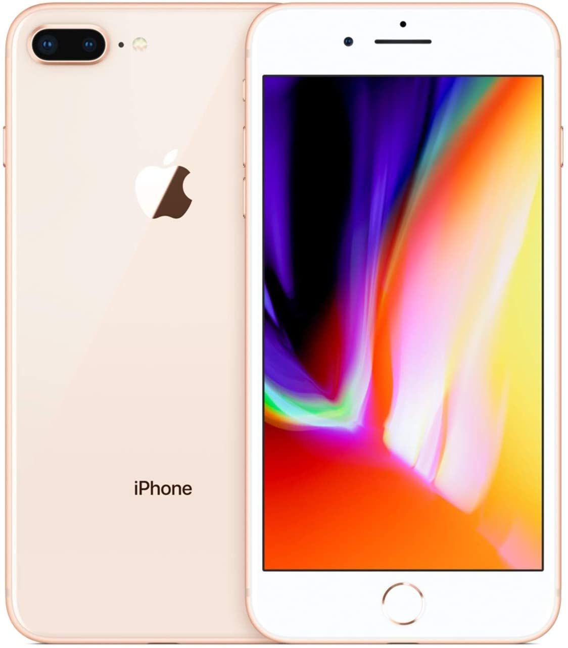 Amazon Com Apple Iphone 8 Plus 64gb Gold For At T T Mobile Renewed