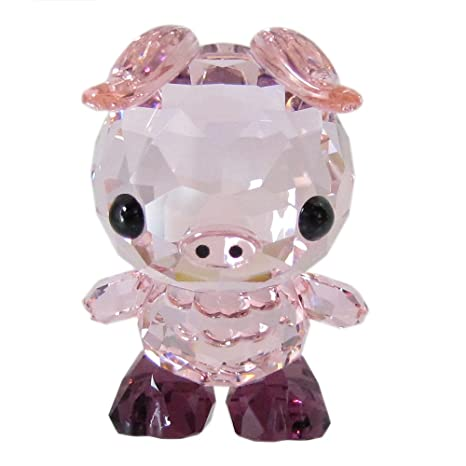 ba28d77bc Image Unavailable. Image not available for. Color: Swarovski SW5302557  Zodiac - Determined Pig