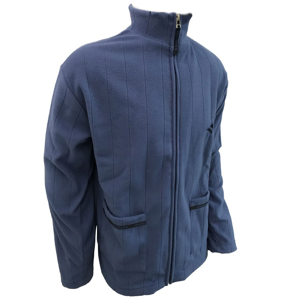 giacca da camera uomo full zip in pile NAVIGARE art 14626