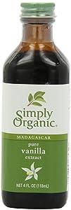 Pure Vanilla Extract, Certified Organic