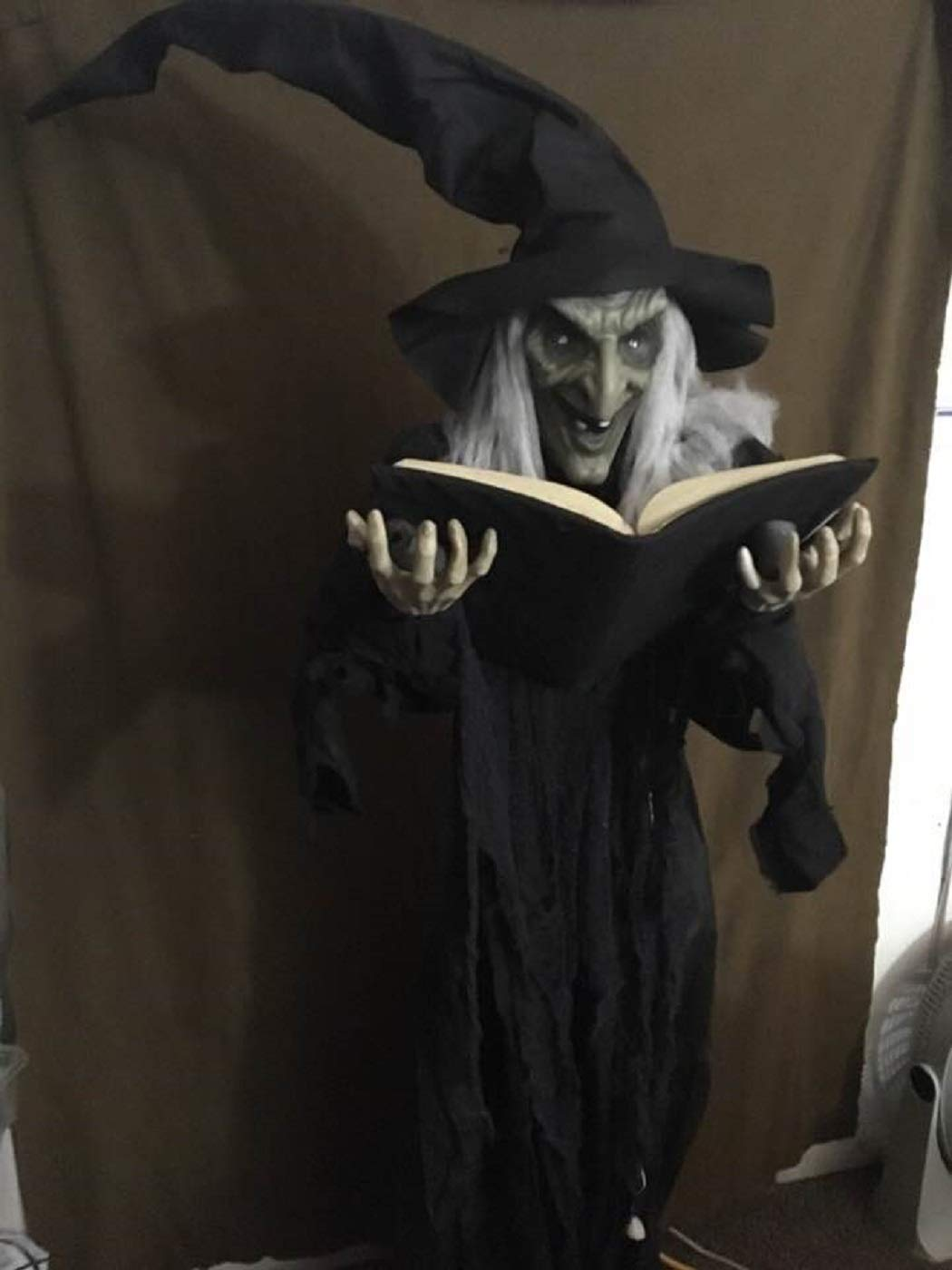 Nantucket Witchy Winifred Holding Spellbook Halloween Standing Prop Decoration by Nantucket (Image #1)