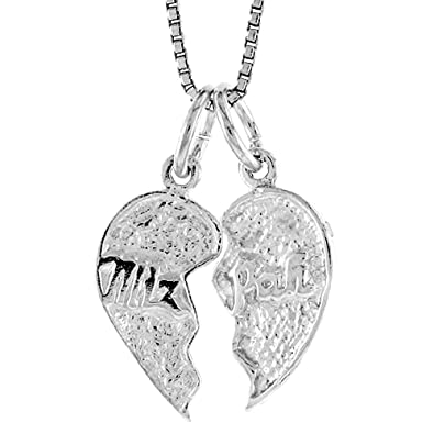 Sterling silver mizpah pendant amazon jewellery sterling silver mizpah pendant aloadofball Image collections
