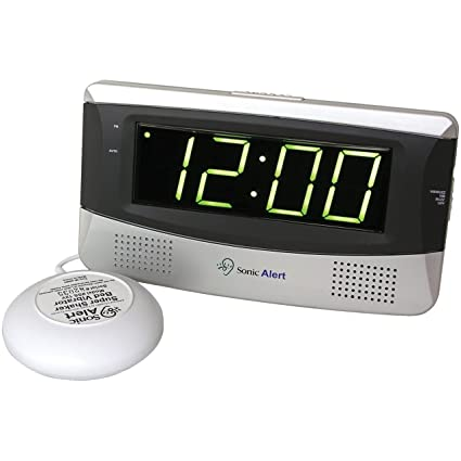Sonic Boom Alarm Clock - White: Amazon.es: Bricolaje y ...