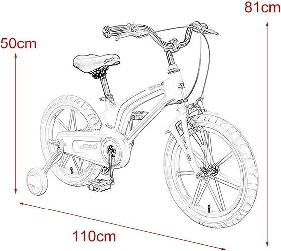 WJSW Bicicletas para niños Bicicleta para niños de Interior ...