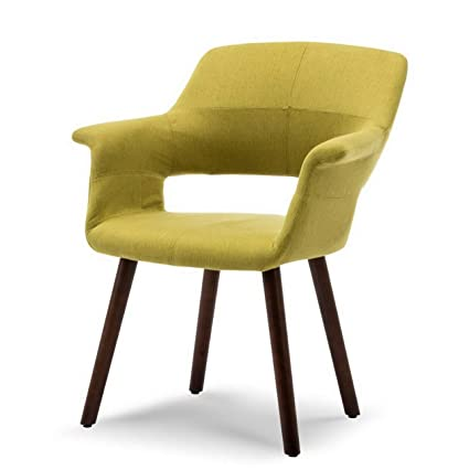 Amazon.com: Hebel Mid-Century Accent Chair Living Room Modern Padded ...