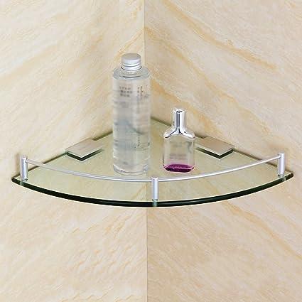 Mensole Vetro Su Misura.Xin Yu Yue Firm Mensole In Vetro Per Bagno Da Bagno A Muro Singolo A