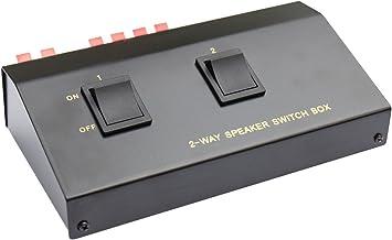 Good Connections - Caja de interruptores para la conexión de Altavoces: Amazon.es: Electrónica